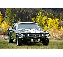 1967 Mustang Photographic Print