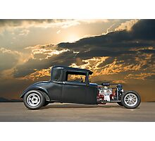 1930 Hudson Hot Rod Coupe ll Photographic Print