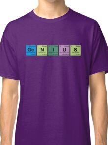 GENIUS! Periodic Table Scrabble Classic T-Shirt
