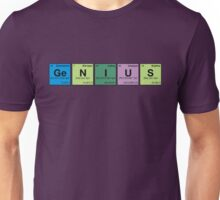 GENIUS! Periodic Table Scrabble Unisex T-Shirt