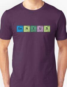 GENIUS! Periodic Table Scrabble T-Shirt