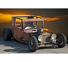 Naugh T Rat Rod Photographic Print