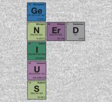 GENIUS NERD! Periodic Table Scrabble Kids Clothes