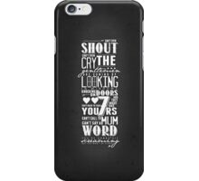 The Gentlemen's Song iPhone Case/Skin