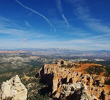 Wide view over Bryce by Claudio Del Luongo