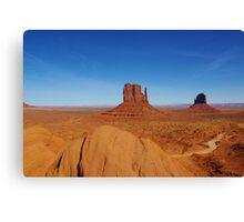 Majestic Monument Valley, Arizona Canvas Print