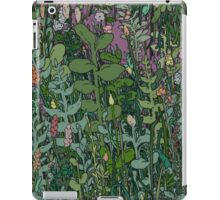 Plant circle - color  iPad Case/Skin