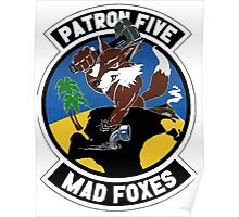 VP-5 Mad Foxes Poster