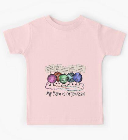 Yarn: Organized! Kids Tee