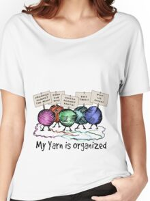 Yarn: Organized! Women's Relaxed Fit T-Shirt