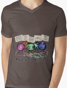 Yarn: Organized! Mens V-Neck T-Shirt