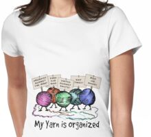 Yarn: Organized! Womens Fitted T-Shirt