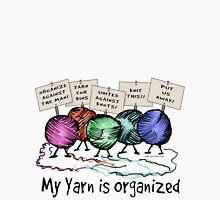 Yarn: Organized! Womens Fitted T-Shirt