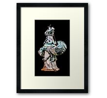 Mannerist Bronze Fountain by Tacca Framed Print