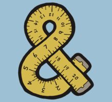 Ampersand Measuring Tape Kids Clothes