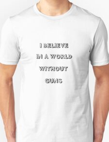 No guns T-Shirt
