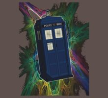 TARDIS in the Vortex Kids Clothes