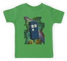 TARDIS in the Vortex Kids Tee