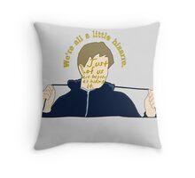 We're All A Little Bizarre [ Ipod / Iphone / Print ] Throw Pillow