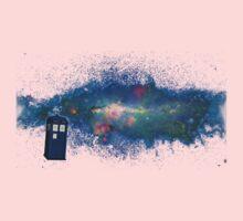 TARDIS & The Milkyway One Piece - Short Sleeve