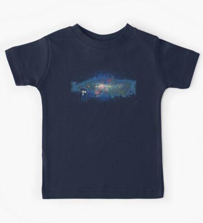 TARDIS & The Milkyway Kids Tee