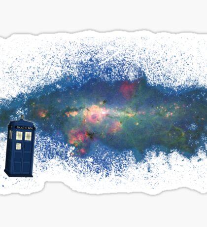 TARDIS & The Milkyway Sticker