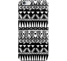 Black and White Hand Drawn Modern Tribal Aztec iPhone Case/Skin