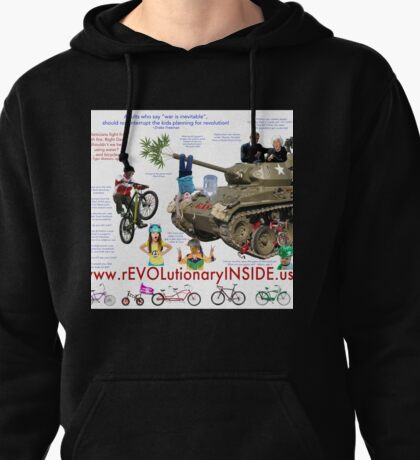 There is a rEVOLutionary INSIDE us! Pullover Hoodie