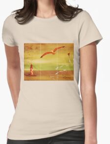 The Harmony of Decay Womens Fitted T-Shirt