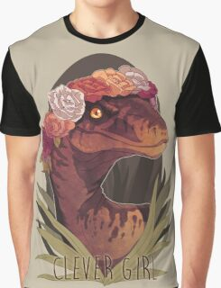 Clever Girl Graphic T-Shirt