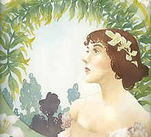 The Actress Art Nouveau by Beth Aucoin
