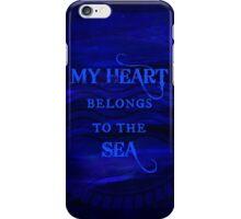My Heart Belongs To The Sea iPhone Case/Skin