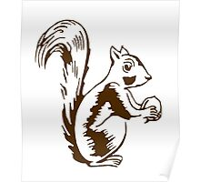 SQUIRREL LAST MAN ON EARTH PHIL MILLER TANDY Poster