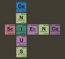 SCIENCE GENIUS! Periodic Elements Scrabble by dennis william gaylor