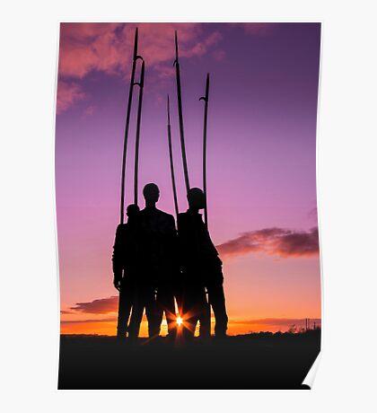 Pikemen 1798 Memorial, County Wexford, Ireland Poster