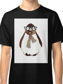 cute fluffy penguin Classic T-Shirt