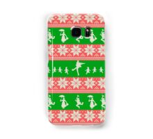 Mary Christmas Sweater Print Samsung Galaxy Case/Skin