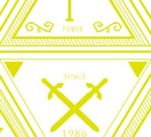 3 Virtues Sticker