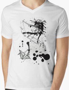 Paper Crane Mens V-Neck T-Shirt