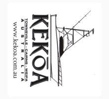 KEKOA Boat Stickers (Boat Silouhette) by blackmarlinblog