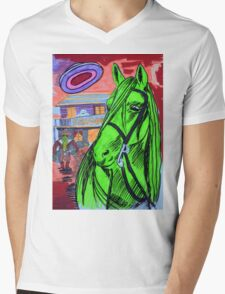 The Evening At The Saloon Mens V-Neck T-Shirt