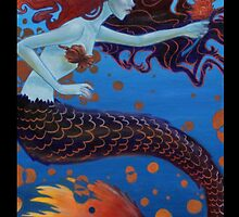 Nautical Mermaid by Beth Aucoin