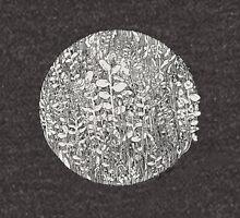 Plant Circle - Black and White  T-Shirt