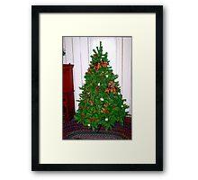 Twentieth century Christmas Framed Print