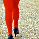 Orange Legs by Cora Wandel
