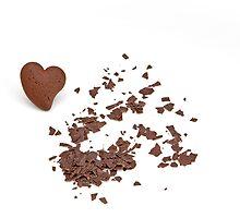 chocolate heart by Joana Kruse