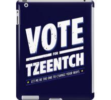 Vote for Tzeentch - Damaged iPad Case/Skin