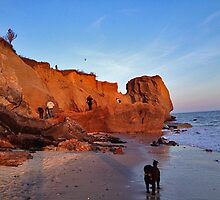 Massive erosion at Lucy Vincent Beach after 'superstorms' by Choux