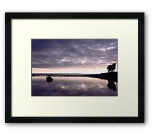 Margins of the Land Framed Print