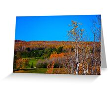 Duluth Golf in Autumn  Greeting Card